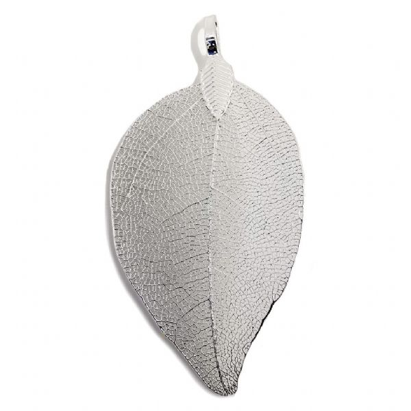 Small Silver Plated Classic Leaf